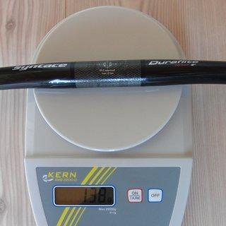 Gewicht Syntace Lenker Duraflite Carbon 25,4 x 580mm