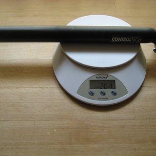 Gewicht Controltech Sattelstütze One 31.6 x 350mm