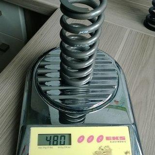 Gewicht K9 Industries Feder Race 450 x 3.0