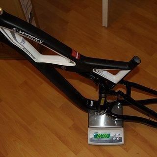 Gewicht Specialized Full-Suspension S-Works Enduro M
