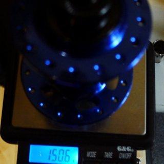 Gewicht Fun Works Nabe N-Light Evo 100mm/QR