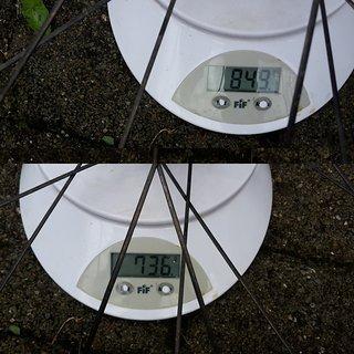 """Gewicht Zeal Systemlaufräder Houffa 25 29"""""""