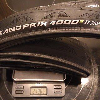 Gewicht Continental Reifen Grand Prix 4000 S II 700-25C, 25-622
