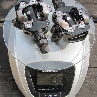 Gewicht Shimano Pedale (Klick) PD-M530 (tuned)
