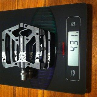 Gewicht Nukeproof Pedale (Platform) Proton Alu/CroMo 95x95x17mm
