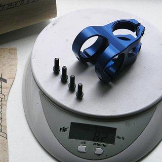 Gewicht Intend Vorbau Grace EN 35mm Länge, 31,8 Lenker