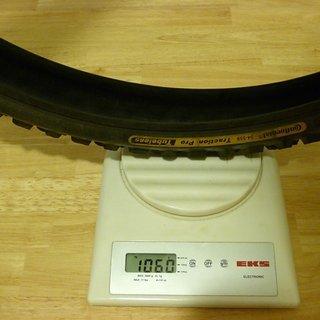 "Gewicht Continental Reifen Traction Pro Tubeless 26x2.0"", 54-559"