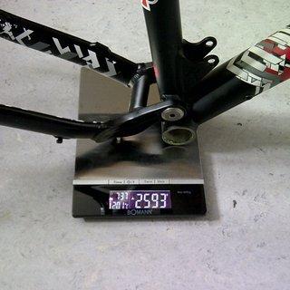"""Gewicht Radon Full-Suspension Slide 125 16"""""""