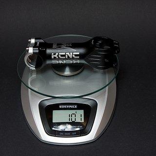 Gewicht KCNC Vorbau Ti Pro 25.4mm, 100mm, 5°
