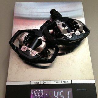 Gewicht Shimano Pedale (Klick) PD-M530