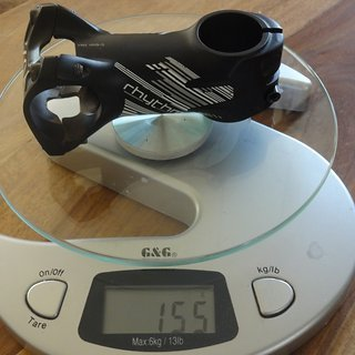 Gewicht Bontrager Vorbau Rhythm Pro 31.8mm, 80mm, 7°