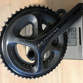 Gewicht Shimano Kurbelgarnitur Ultegra 6800 52/36 170mm