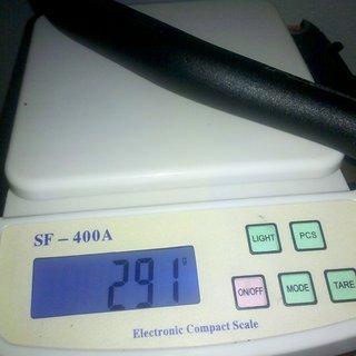 Gewicht XtasY Lenker Riser Bar 31.8mm, 720mm