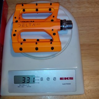 Gewicht Superstar Components Pedale (Platform) Delta Magnesium EVO Pedals - Stahlachse 97x105x14mm