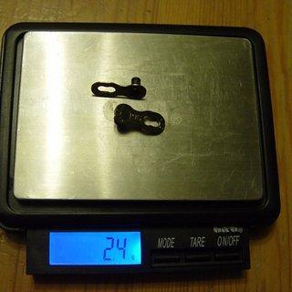 Gewicht KMC Chain Weiteres/Unsortiertes Missing Link 9 Silver 9-fach