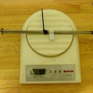 Gewicht DT Swiss Speiche Competition 266mm, 16 Stück