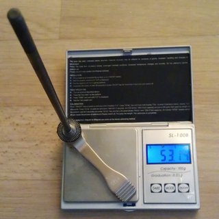 Gewicht Bontrager Schnellspanner ABP Schnellspanner 216mm