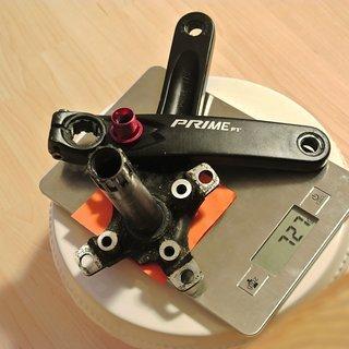 Gewicht Prowheel Kurbel Prime PT 170mm