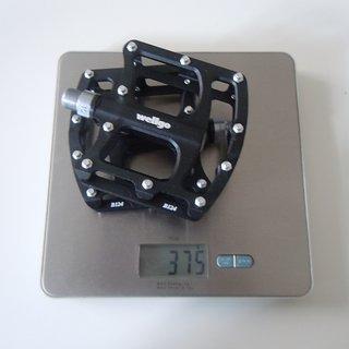 Gewicht Wellgo Pedale (Platform) B124 107.3x100x25.7mm