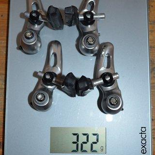 Gewicht Shimano Felgenbremse M900