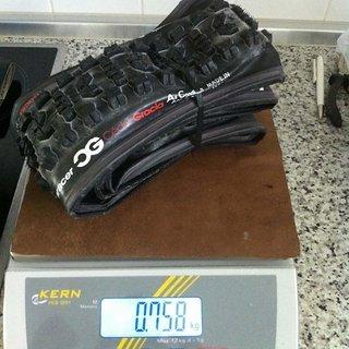 "Gewicht Panaracer Reifen CG AC AM 26x2.35"", 58-559"