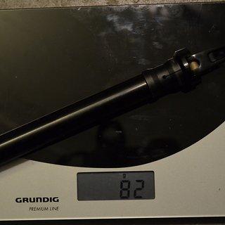 Gewicht Rock Shox Achse Maxle Lite 110 x 20mm (35/40mm Standrohre)