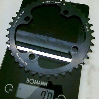 Gewicht Blackspire Kettenblatt Mono Veloce 104mm, 38Z