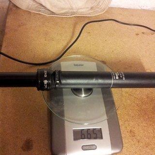 Gewicht Kind Shock Sattelstütze höhenverstellbar e-ten 30.9 x 385mm