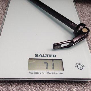 Gewicht Rock Shox Achse Maxle Lite 135 x 12mm