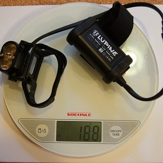 Gewicht Lupine Beleuchtung Piko 3