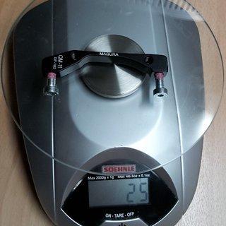 Gewicht Magura Scheibenbremsadapter Adapter QM-11 IS >>> PM +0