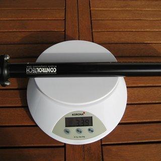 Gewicht Controltech Sattelstütze ONE 27,2 x 400mm