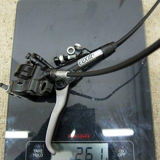 Gewicht Avid Scheibenbremse Elixir 5 VR, 600mm