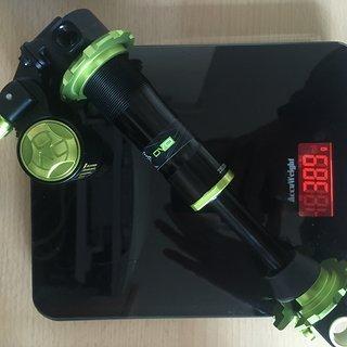 Gewicht DVO Dämpfer Jade X 230/205x60 Trunnion