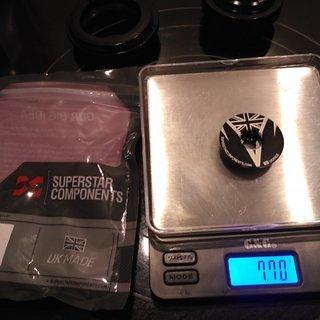 """Gewicht Superstar Components Ahead-Kappe Topcap 1 1/8"""""""