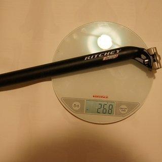 Gewicht Ritchey Sattelstütze Comp  27,2 x 350