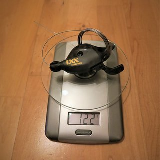 Gewicht SRAM Schalthebel XX1 Eagle  12fach