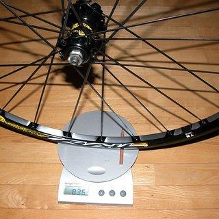 Gewicht Mavic Systemlaufräder Crosstrail VR, 100mm/QR