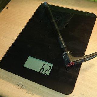 Gewicht DT Swiss Achse RWS X-12 142 x 12mm
