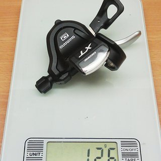 Gewicht Shimano Schalthebel XT SL-M780-A 10-fach