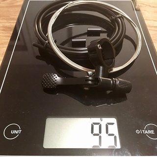 Gewicht Fox Sattelstütze höhenverstellbar Transfer Remote 1x