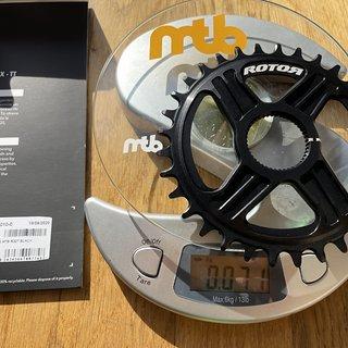 Gewicht Rotor Kettenblatt Round DM Ring 32t