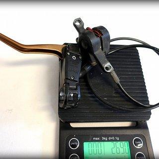 Gewicht Magura Scheibenbremse Louise FR VR, 850mm