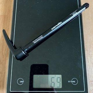 Gewicht Cervélo Achse QRA-LVR-R 12 x 142mm