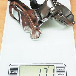 Gewicht Shimano Umwerfer LX FD-M581 34,9mm