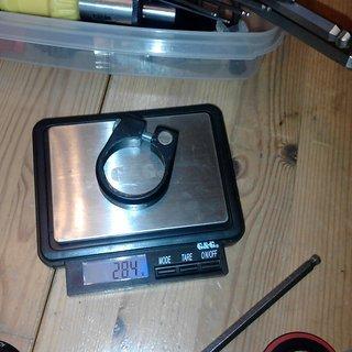 Gewicht Bianchi Sattelklemme Componenti 34.9mm