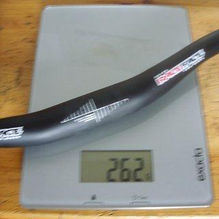 Gewicht Race Face Lenker Atlas Lowriser 31,8 x 685mm