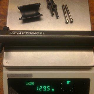 Gewicht New Ultimate Sattelstütze Carbon EVO 31,6 x 410mm