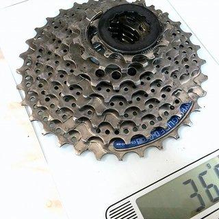 Gewicht Shimano Kassette Acera CS-HG40-8 8-fach, 11-32Z