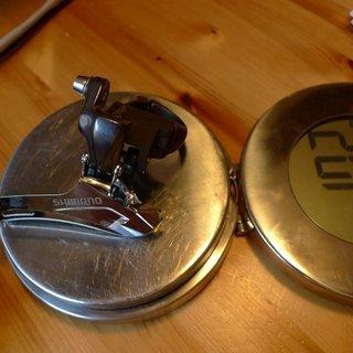 Gewicht Shimano Umwerfer FD-CX70 31,8mm